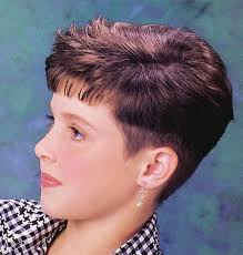 hairstyle wedge at back bangs at side hairxstatic crops pixies gallery 8 of 9