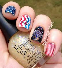 nail polish wars happy fourth of july