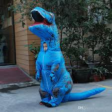 T Rex Costume Inflatable Dinosaur T Rex Costume Jurassic World Park Blowup