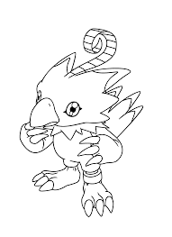 digimon coloring pages coloringpages1001 com