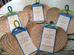 fans for weddings guest fans will be on their chairs when they arrive at the