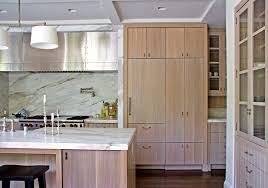 cerused oak kitchen cabinets cerused wood kitchen transitional with barstools white candleholders