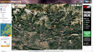 Lightning Maps Acompanhe Todas As Ocorrências Mundiais De Relâmpagos Em Tempo