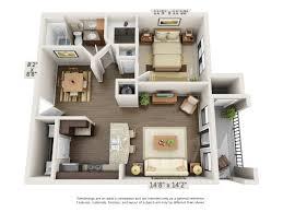 one bedroom floor plans 3343 memorial elevated living