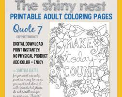 printable mindfulness quotes adult coloring quotes digital download grown up coloring