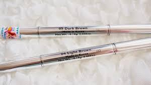 light grey eyebrow pencil cyber colors auto eyebrow pencil review wiida ribbon