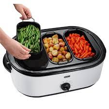 Oster Buffet Warmer by Oster Roaster Oven With Buffet Server 18 Quart