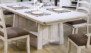 dining room table white capture beauty by distressed wood dining table home interiors
