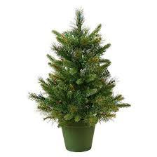 2 u0027 pre lit led artificial christmas tree warm white lights target