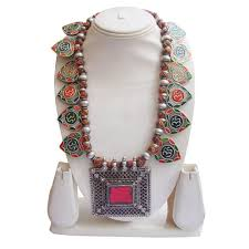 silver necklace from india images Necklace antique vintage look traditional old silver necklace jpg