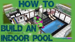 sims freeplay how to build an indoor pool youtube