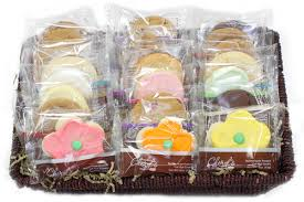 Cookie Basket Delivery Home Basket Of Two Dozen Assorted Cheryl U0027s Cookies Columbus Oh