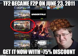 Gabe Newell Memes - wow what a bargain imgflip