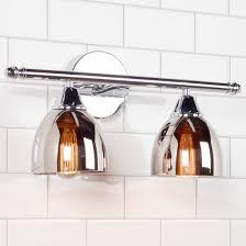 Bathroom Lighting Fixtures  Vanity Lighting Shades Of Light - Bathroom lighting fixtures chrome 2
