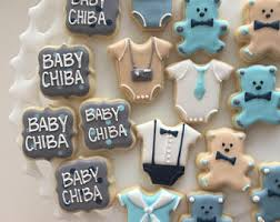 baby shower cookies elephant baby shower cookies baby shower favors baby boy