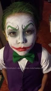 Joker Halloween Costume Kids Joker Harley Quinn Homemade Costumes Joker