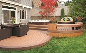 Deck Design Photos Deck Home Design Ideas With Wood Deck And - Backyard deck design ideas
