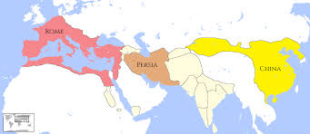 Map Of China And India by When Roman U201cbarbarians U201d Met The Asian Enlightenment
