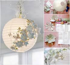 How To Make A Cardboard Chandelier 20 Amazing Diy Paper Lanterns And Lamps Architecture U0026 Design