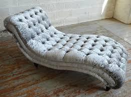 Velvet Chaise Lounge Bude Velvet Chesterfield Chaise Lounge Abode Sofas