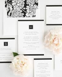 black and ivory wedding invitations modern glamour wedding invitations wedding invitations by shine