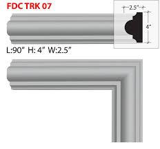 out door stucco foam window door trim fdc tk 07