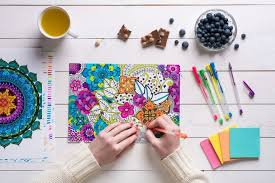 anti stress coloring books for adults the way to relax