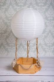 photography props hot air balloon real photography props newborn baby wood basket