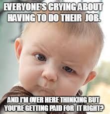 Having A Baby Meme - skeptical baby meme imgflip