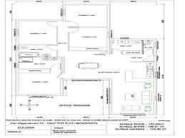 plan villa plain pied 4 chambres chambre plan maison plain pied 4 chambres inspiration maison