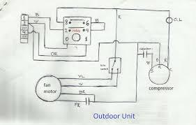 wiring diagram of split air conditioner