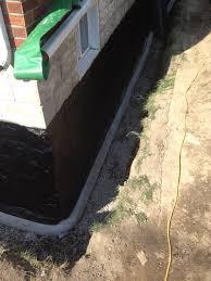 basement waterproofing and foundation repair durham backhoe