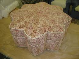 Custom Fabric Ottoman by Custom Made U0026 Custom Upholstered Ottomans And Benches From
