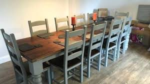 Large Dining Room Table Seats 12 Dining Room Tables That Seat 12 Or More Javi333