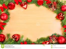 new year decoration with pine or fir and ornaments balls stock