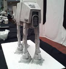 Grooms Cake Till Hoth Do Us Part Realistic At At Groom U0027s Cake Geekologie