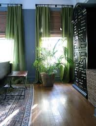 Green And Gray Curtains Ideas Vintage Finds In A Classic Co Op Green Curtains Blue Walls And