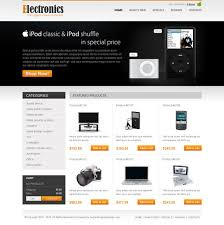 online digital product store template 07 website template psd