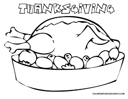 coloring pages for thanksgiving turkeys
