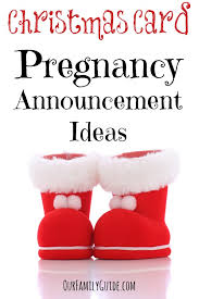 christmas card pregnancy announcement ideas our family world