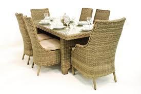 maze rattan winchester high back dining chair set
