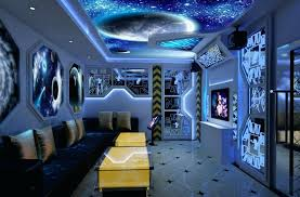 Mesmerizing Galaxy Room Decor Space Themed Room Outer Wall Decal
