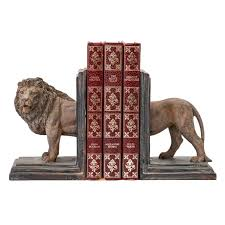 lion book ends hector lion bookend set india