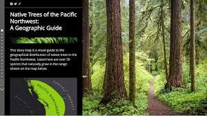 pacific northwest native plants esri story maps on twitter