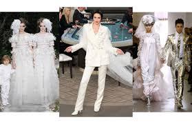 robe de mariã e haute couture les plus belles robes de mariee chanel haute couture vogue