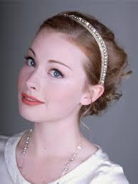 rhinestone headband juliet pearl and rhinestone headband bridal deanna dibene
