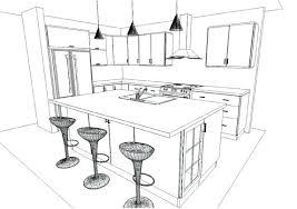 cuisine en 3 d dessin cuisine meilleures idées de décoration à la maison