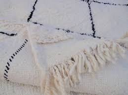 beni ourain black diamond rug sevensmith