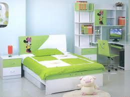 Pretty White Bedroom Furniture Decoration Wonderful Green White Bedroom Furniture Minnie