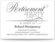 retirement announcement retirement invitations and announcements pingg